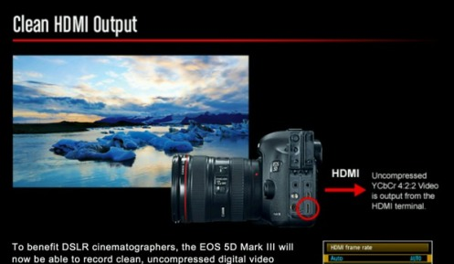 Canon 5D Mk-III Firmware update (v1 2 1) for the famous EOS 5D