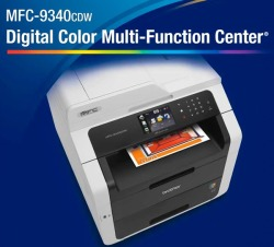 Brother Mfc 9340cdw Color Printer Color Copier Color