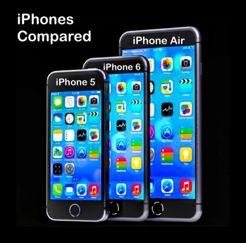 iPhone 5, 6, Air