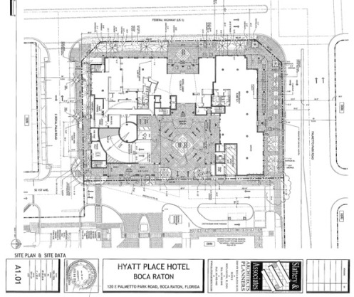 Construction progress hyatt place hotel boca raton progress lot malvernweather Choice Image